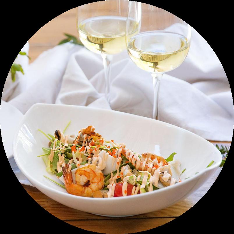 «Sea breeze» salad