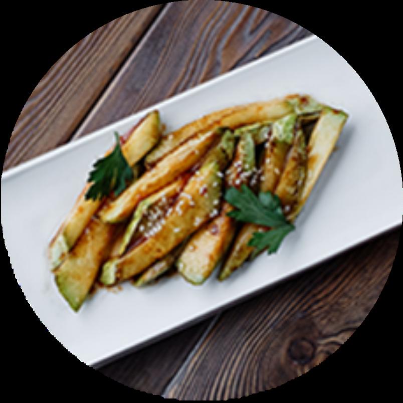 Thai style zucchini