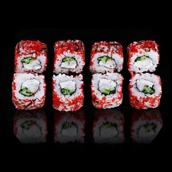 Roll Tokio with shrimp