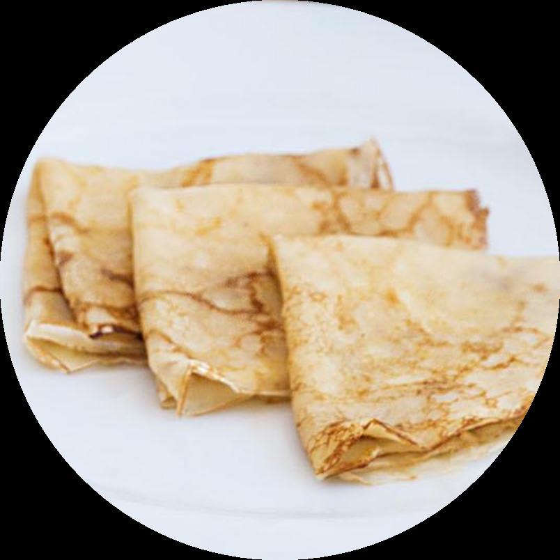 Specialty milk pancakes