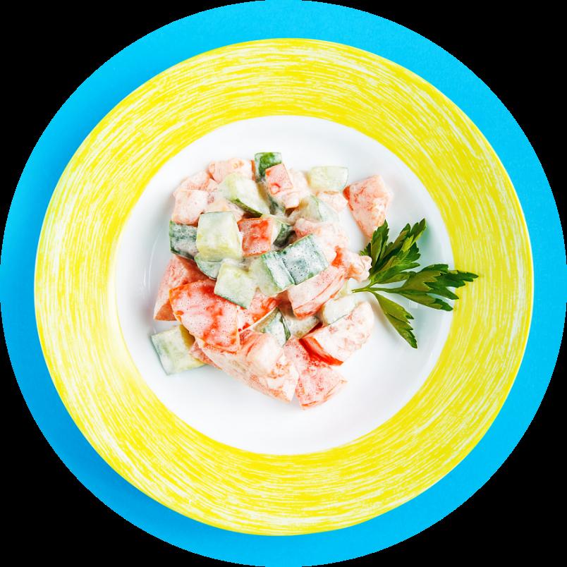 salad Дачный