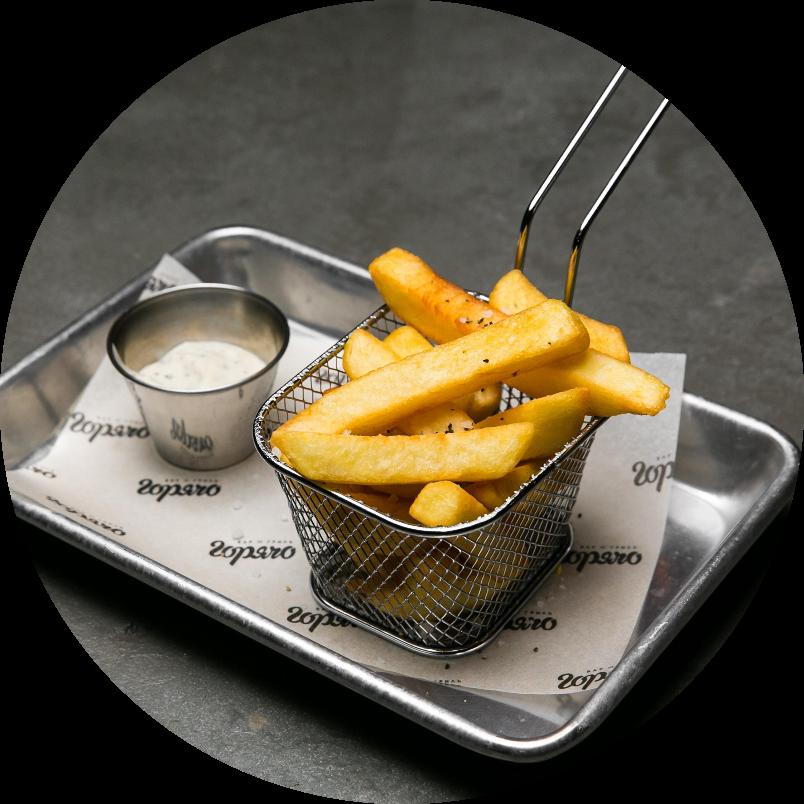 Большая картошка фри