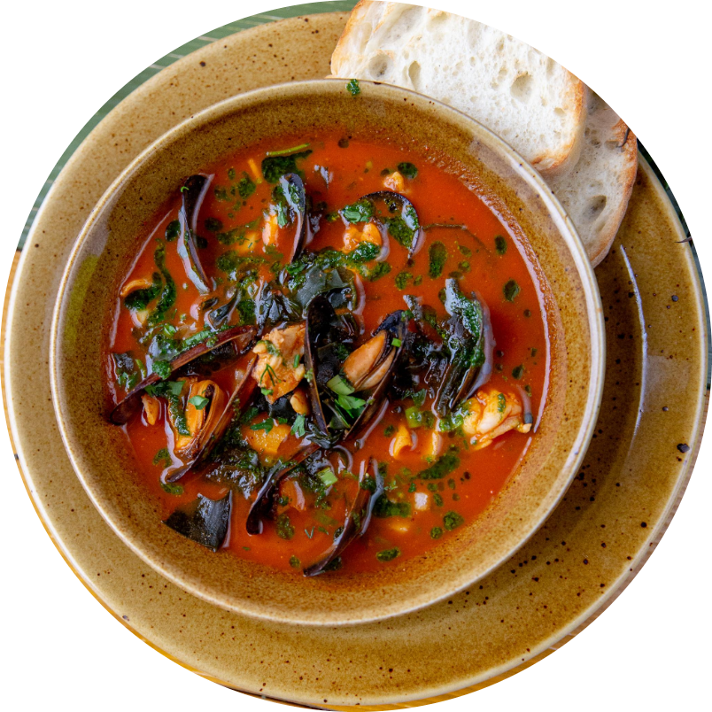 Traditional Chupe soup
