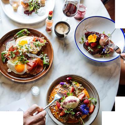 Бизнес-ланч из двух блюд (salad + горячее)