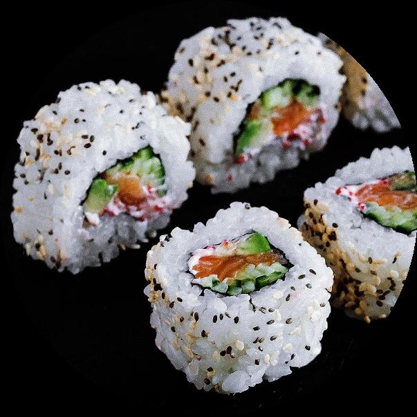 Meiro with salmon