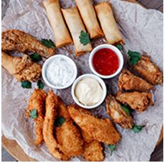 Specialty chicken set