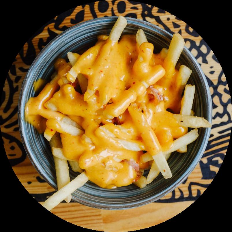Картофель фри с секретным соусом
