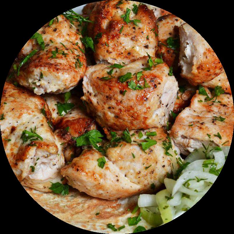 Шашлык из курицы (1кг)