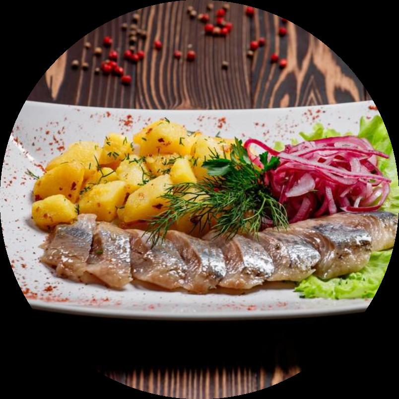 Mackerel and herring fillets