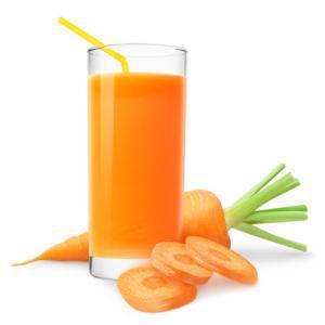 Carrot wih cream