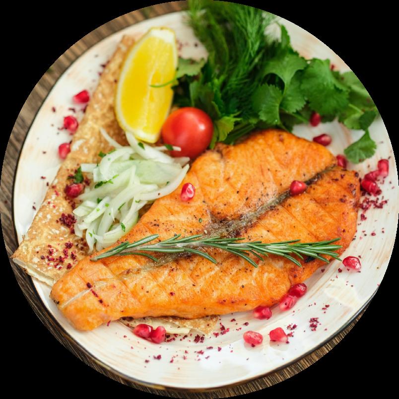 Шашлык из лосося 150 гр