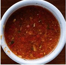Homemade Adjika sauce
