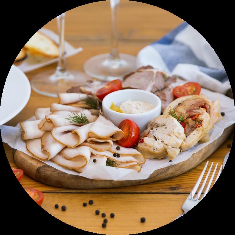 Домашняя мясная тарелка
