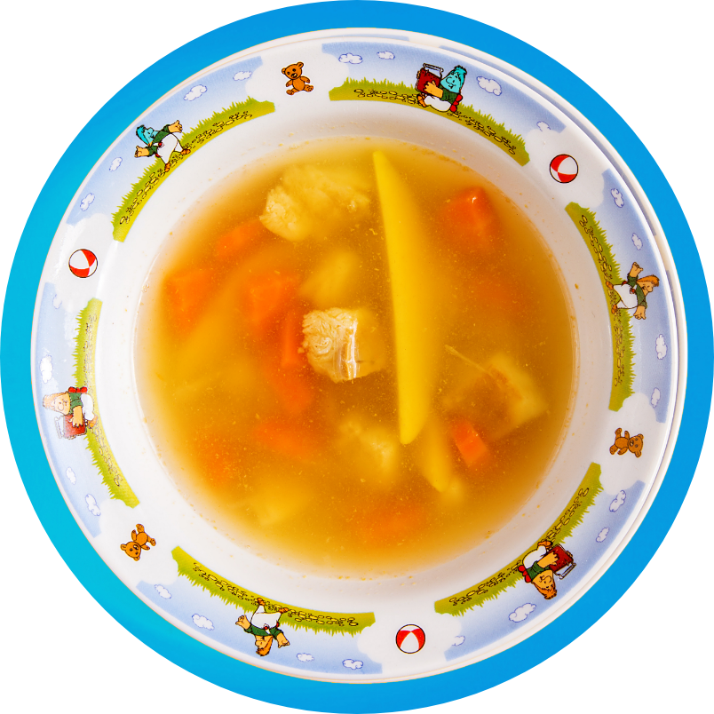 "Soup ""Pirate Harbor"""