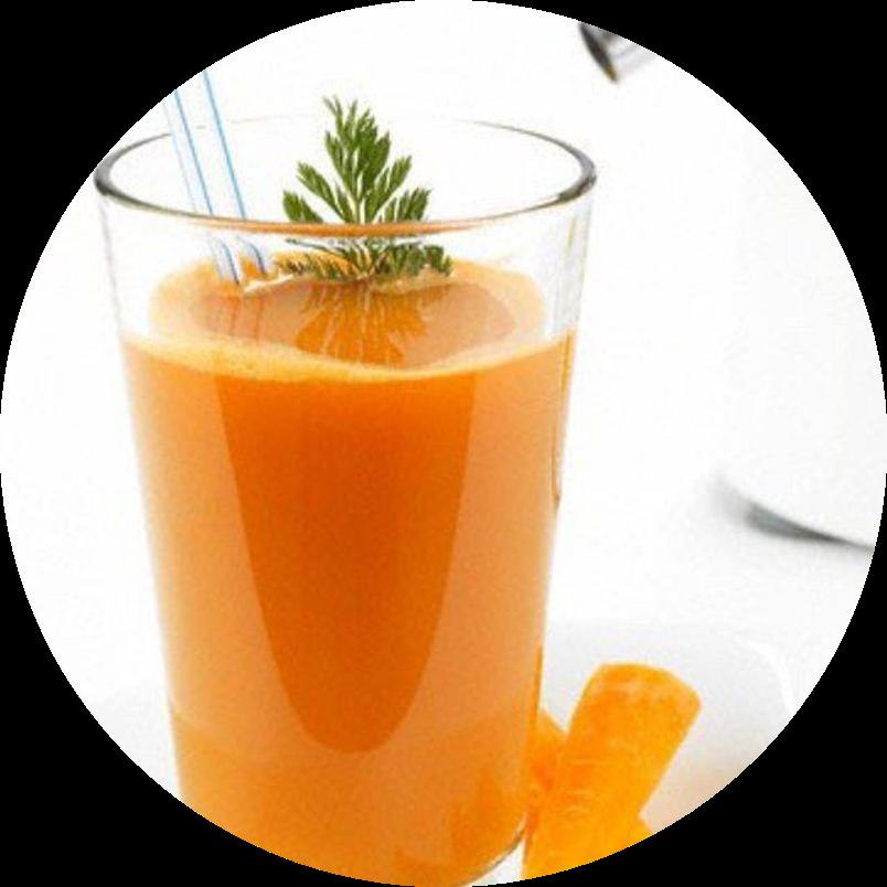 Фреш Морковный со сливками
