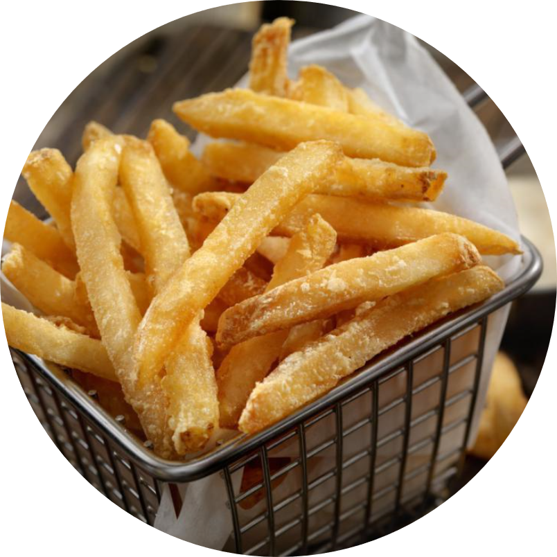 French fries mix