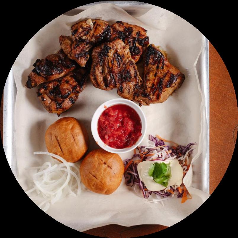 Мясо цыпленка на компанию